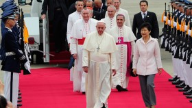 Pope Francis Visits South Korea - DAY 1